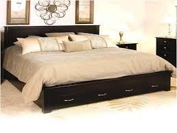bedroom california king bed frames with storage black wood