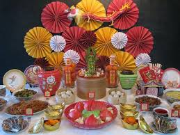 New Year Decoration Ideas Home by Chinese New Year Dining Decorations