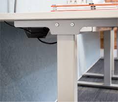 Left Handed Desk Godfrey Syrett Ascend Height Adjustable Left Handed Radial Desk