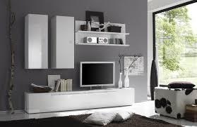 Wohnzimmerschrank Ohne Fernseher Wohnwand Weiss Hochglanz Lackiert Woody 12 00423 Wohnideen