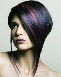 edgy highlights hairstyles images pictures fashion gallery