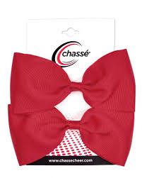 cheap hair bows chassé bows ribbons chassé cheerleading apparel