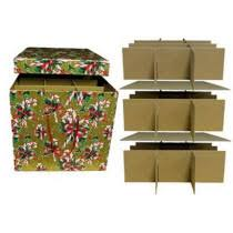 Box Ornament Ornament Storage Box With Dividers Stones Finds