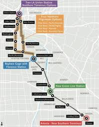 Union Station Los Angeles Map by Measure M Light Rail Between Artesia And Union Station The Source