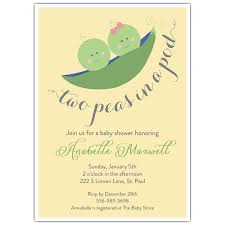two peas in a pod baby shower two peas in the pod baby shower invitations paperstyle