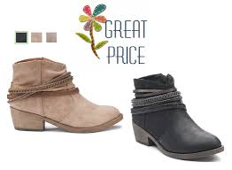 womens boots kohls kohl s so squad s ankle boots only 27 99 reg 69 99