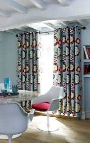 23 best living room curtains images on pinterest living room retro curtains with contemporary grommet header