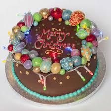 celebration cakes colourful christmas celebration cake christmas