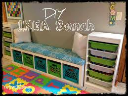 Storage Bench Ikea Diy Crate Storage Bench Crate Storage Storage Benches And Crates