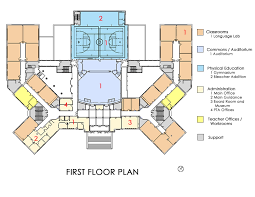 administration office floor plan maggie l walker governor s school designshare projects