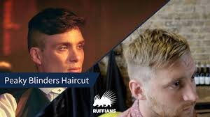 tommy shelby haircut peaky blinders haircut ruffians barbers youtube