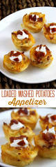 Christmas Appetizers Easy by Loaded Mashed Potatoes Appetizer Bites Oh My Creative