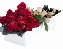 boxed roses dozen stem roses boxed georgewood florist