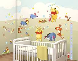 deco winnie l ourson pour chambre deco chambre bebe disney beau sticker mural winnie l ourson parez