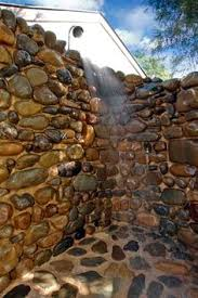 rock showers custom river rock shower house ideas