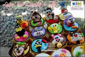 looney tunes birthday cupcakes mama kintan u0026 kinar u0026 bagas