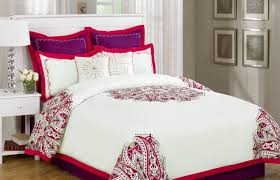 bedding set famous red and white plaid bedding enjoyable red