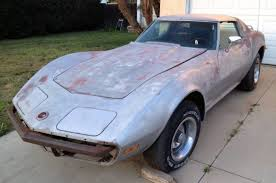 corvette l48 1973 chevrolet corvette blank canvas