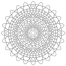 free printable mandalas adults difficult mandala coloring