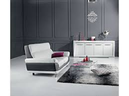 canap fixe 2 places canapé fixe 2 places diagonal coloris blanc noir prix promo canapé
