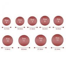 men ring size mens ring sizes standard