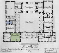 art now and then villa vizcaya miami florida plans diagrams critical cities vizcaya mediterranean floor plans with courtyard