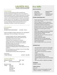business resume exles business operations manager resume exles cv templates sles