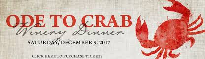 ode to thanksgiving ode to crab winery dinner upcoming events st francis winery