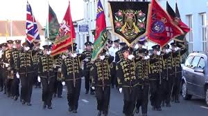 29 Star Flag Kilcluney Volunteers P2 Dollingstown Star Of The North Parade