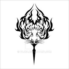 tiger tribal by v4jr4 on deviantart