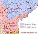 andhra pradesh telangana map