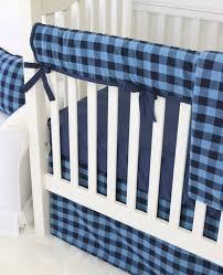 nursery beddings white and teal crib bumper with aqua blue crib