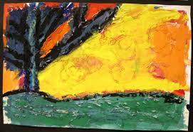 Nightmare Before Christmas Decorations Halloween Van Gogh There U0027s A Dragon In My Art Room Trees Texture U0026 Van Gogh