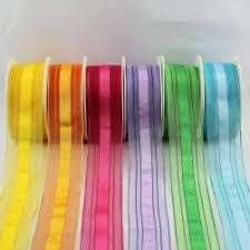 easter ribbon wholesale easter ribbon striped ribbons wired edge ribbon