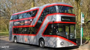 new buses for london at bank and weybridge on 12th u0026 13th april