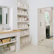 Bathroom Open Shelving Look Organized Open Shelves In The Bathroom Apartment Therapy
