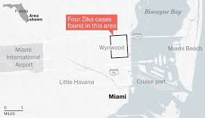 Map Of Florida Airports by U S Confirms Florida Zika Cases Are First Local Transmission In