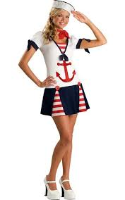 Cute Halloween Costumes Tween Girls Sassy Sailor Costume Teen Girls Halloween Cute