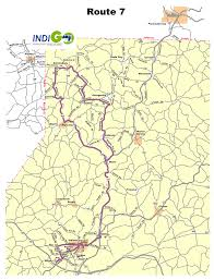 Map Route by Route 7 Bus Route Schedule And Fares Indiana County Transit