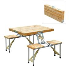 Portable Folding Picnic Table Bench Portable Wooden Picnic Table Portable Folding Picnic Table