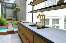 cuisine beton cellulaire plan de travail beton plan travail mat plan de travail cuisine beton