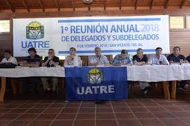uatre nueva escala salarial para los trabajadores agrarios el balance de uatre en la primera reunión de delegados provinciales
