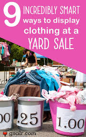 s yard boots sale best 25 yard sale displays ideas on hang clothes