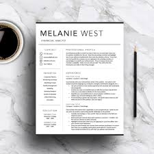 Resume Template For Word 2013 Creative Resume Template Modern Cv Word Cover Letter 201 Peppapp