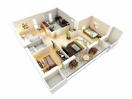 Three Bedroom House Interior Designs 3d Three Bedroom House Plan Houses For Rent Near Me 2018 Also