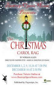 the christmas carol rag ctx live theatre