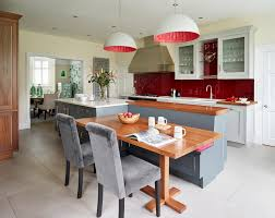 Transitional Pendant Lighting Kitchen - baxter dining chair with farrow and ball kitchen transitional and