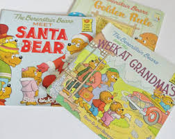 berenstain bear book etsy