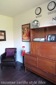 Mens Home Office Ideas by Men U0027s Home Office Makeover With Retro Inspired Decor Suzanne Carillo