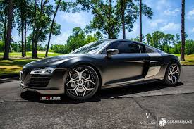 audi r8 matte black gorgeous black audi r8 on contrasting chrome rims u2014 carid com gallery